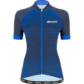Santini Virtus SS Jersey Women nautic blue
